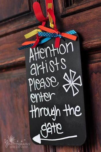 Hostess with the Mostess® - Art Theme Birthday Party