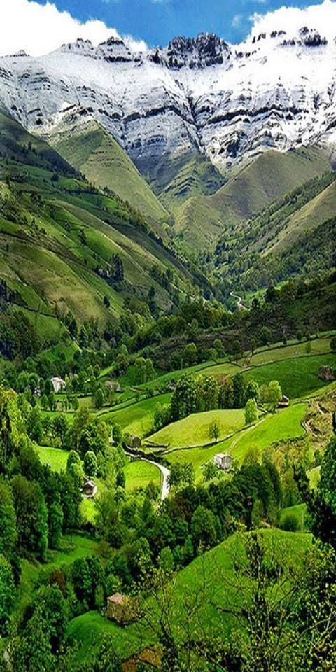 Pisueña Valley, in Cantabria (northern Spain) is not only a natural gem as you can see in the picture, but also a historic treasure with archaeologic caves to medieval heritage. The range of activities goes from donkey riding and plants harvest to motorbiking or golf. A perfect getaway in Spain!