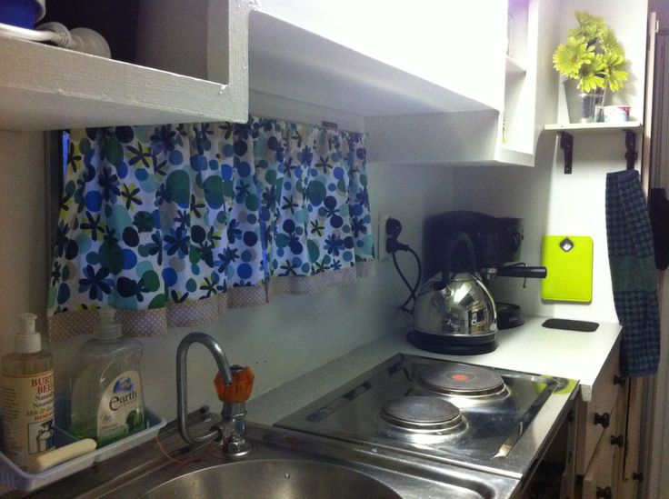 Kitchen curtains made