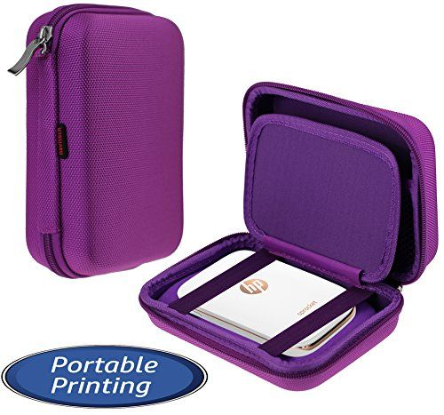 From 13.99:Navitech Purple Handheld Pocket / Portable / Mobile Printer Carrying Case For The Hp Sprocket Photo