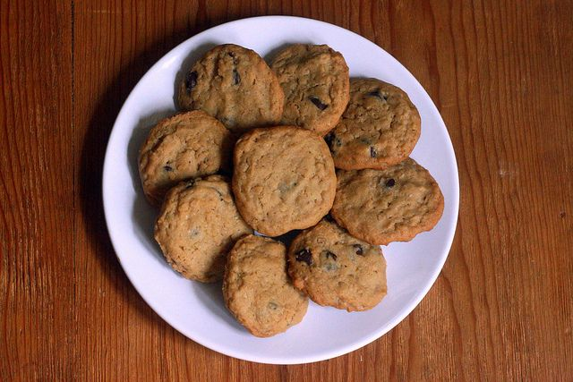 sea salt peanut butter oatmeal chocolate chip cookies by kae71463, via ...