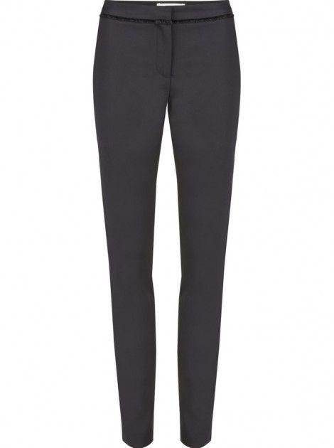 Pantalon smoking slim BLACK - Pantalons Femme - NAF NAF