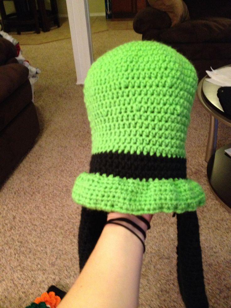 Disney...Goofy crochet hat!