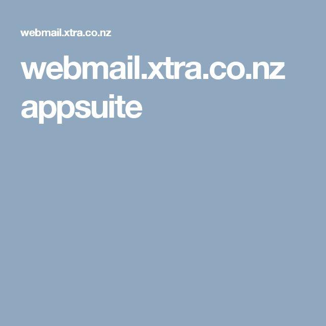 webmail.xtra.co.nz appsuite