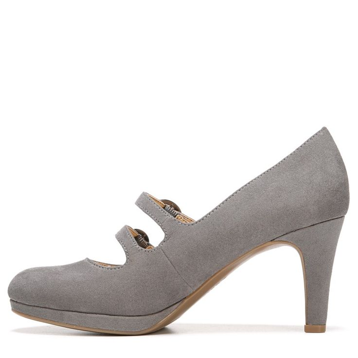Naturalizer Women's Prudence Medium/Wide Pump Shoes (Grey)