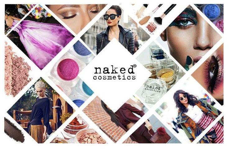 NAKED Cosmetics - mood board ||| by: Fruzsina Csaba