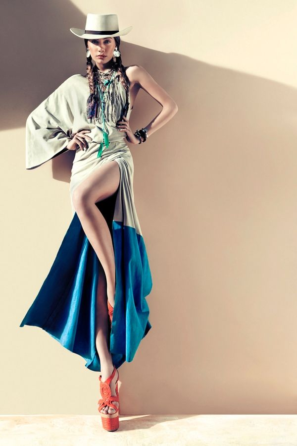 High style Native American by gnata -- This is a stunning photo!