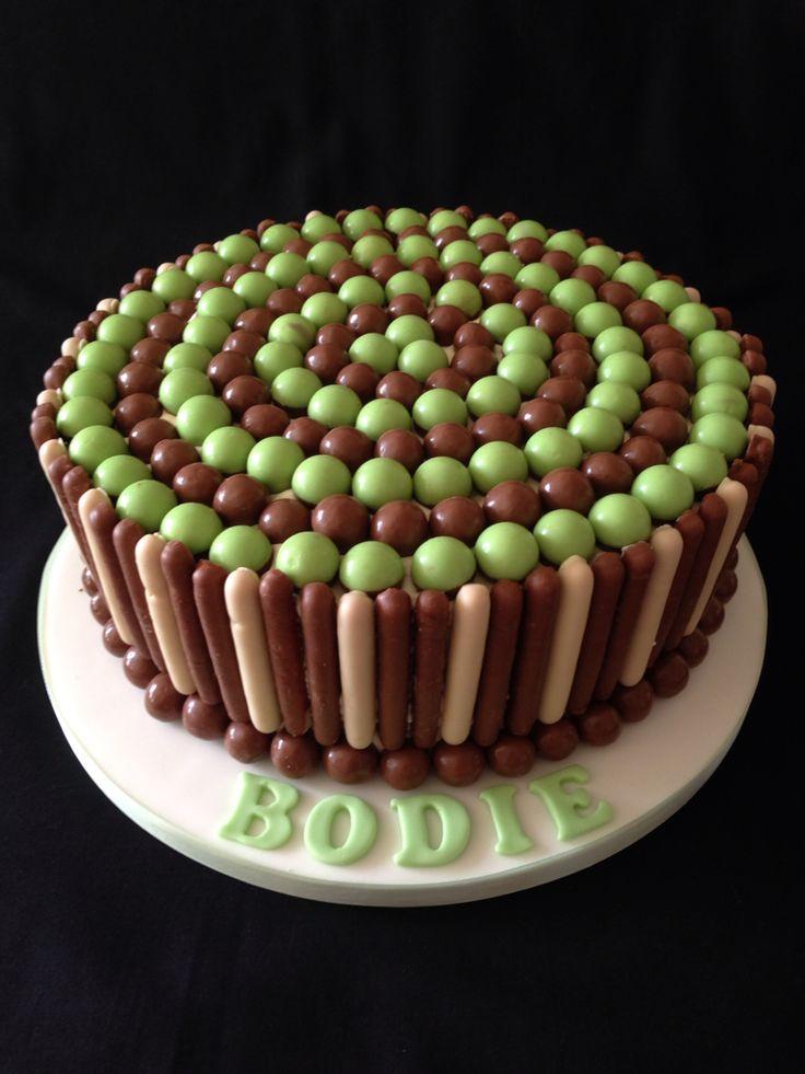 Nestle Aero Chocolate Celebration Cake