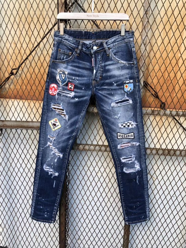 Verkaufen Gucci Lv Chanel Fendi Dsquared2 Versace Dg Burberry Philippplein Denim Jeans Fashion Denim Jeans Men Denim Jeans Ideas
