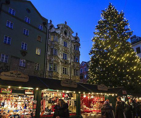 Innsbruck Christmas Market #EuropeanChristmasMarkets #holidayshopping
