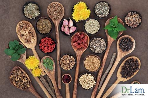 Herbs and how to reverse aging skin