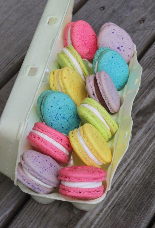 Project Denneler: Easter Egg Macarons