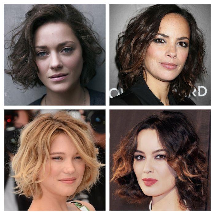 The Beautiful Bobs Of French Movie Stars: Bérénice Marlohe, Bérénice Bejo, Léa Seydoux, And Marion Cotillard