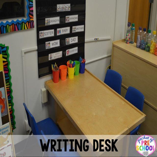 my classroom preschool writing
