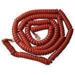 ICC GCHA444025-FCR / 25' RED Handset Cord by ICC. $6.25. - ICC Handset cord- 25' length- Curly handset cord- Red2500RD