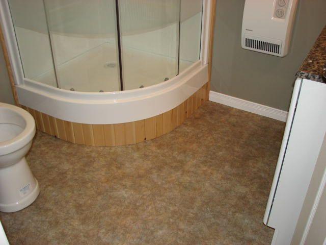 install vinyl flooring and trim