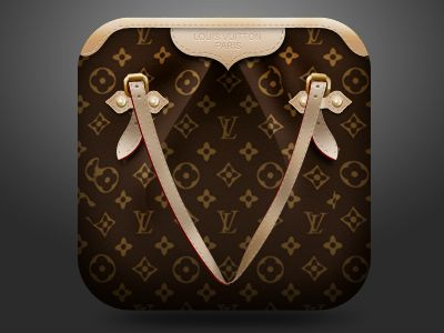 Dribbble - LV Bag Icon by Dicky J: Designer Handbags, Design Handbags, Replica Handbags, Louis Vuitton Handbags, Lv Bags, Fashion Handbags, Handbags Online, Bags Icons, Hands Bags