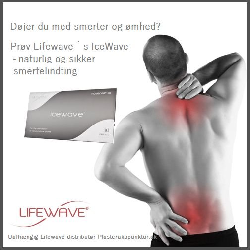 SMERTEPLASTRENE ICEWAVE og de øvrige akuplastre har TAGET DANSKERNE MED STORM!  Icewave kan lindre og fjerne smerter ofte indenfor få minutter....også kroniske smerter.   Og det bedste er, at du slipper for at få medicin eller anden gift ind i kroppen.  #smertelindring #icewave #energifrekvens #nanoteknologi #ingenmedicin