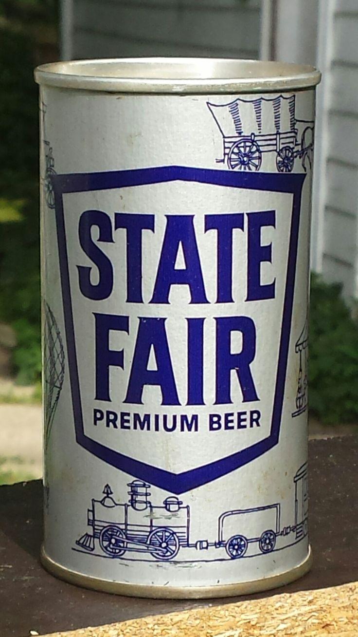 State Fair Beer ,Shamokin, PA -1962 / zip top