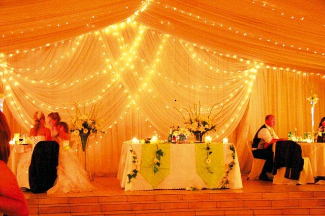 Everwood Weddings  Plot 138, Nooitgedacht, Muldersdrift  Photo 2  The draping is beautiful!