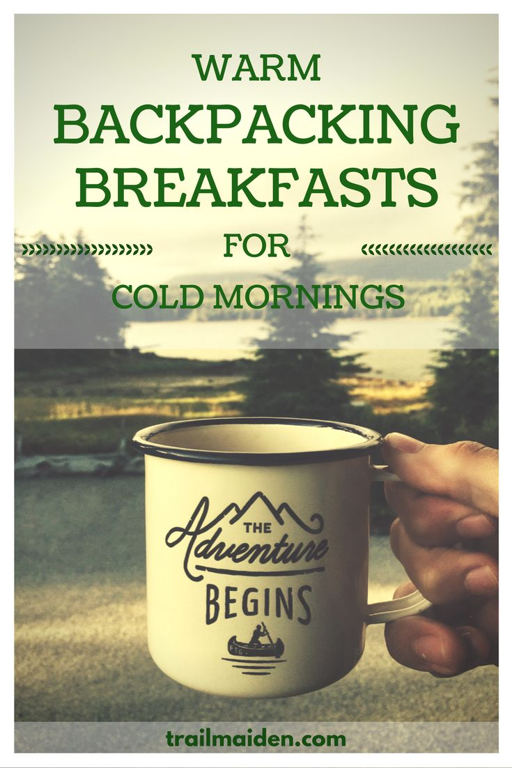 Homemade, easy, tasty backpacking breakfasts – just add hot water and you're done! Simple recipes for your hiking adventures! Click and get your free backpacking meal planner today!