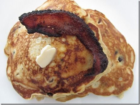 Beer & Bacon Pancakes = Father's Day breakfast