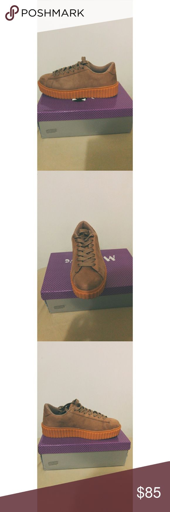 Suede creepers Puma fenty look alikes. Nice addition to any collection. Shoes Sneakers