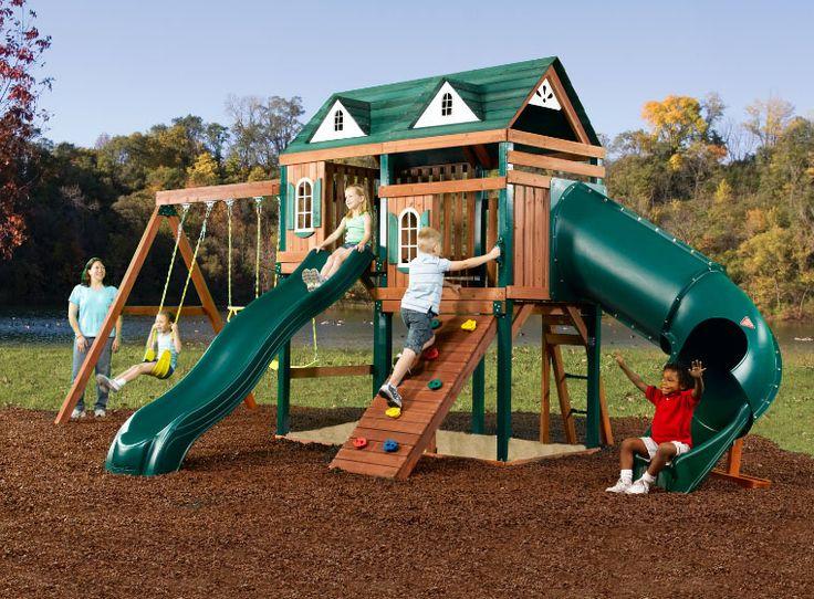 40 Best Swing Set Ideas Images On Pinterest For Kids