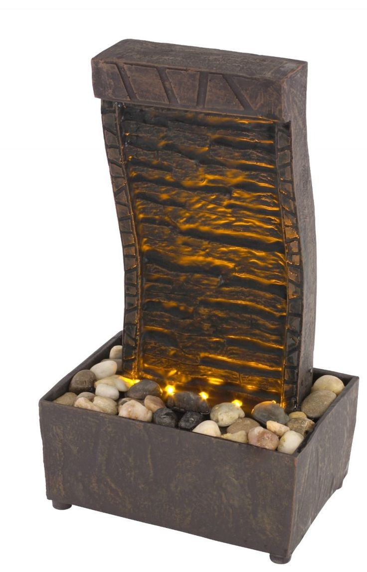 63 best fountains images on pinterest tranquility led illuminated lighted indoor tabletop fountain battery operated
