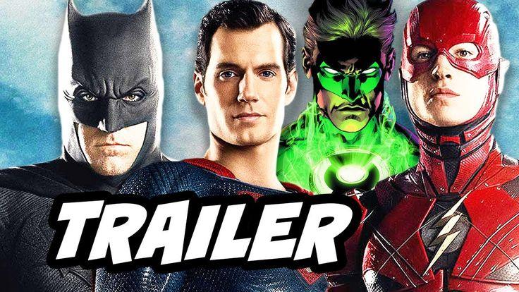Justice League New DC Comics Movie Intro Trailer - The Flash Batman Gree...