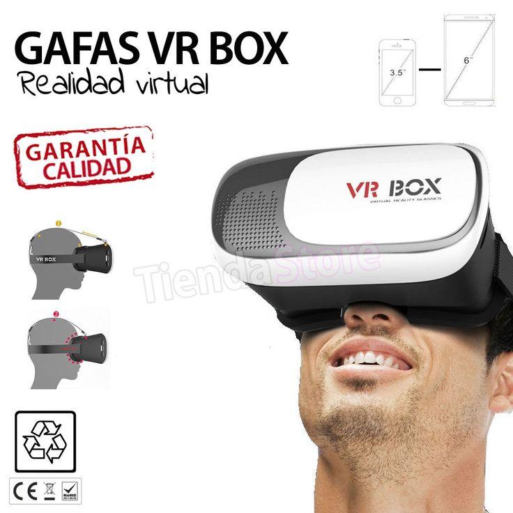Gafas Realidad Virtual VR BOX #gafasrealidadvirtual #realidadvirtual #vrbox2.0 #vrbox #vidos3d #videos360