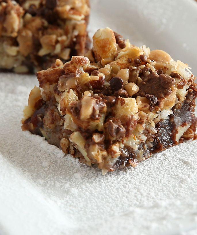 almond joy brownies brownie bar box brownies homemade brownies bar ...