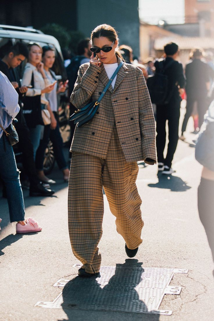 Milan Fashion Week Street Style via Vogue.com