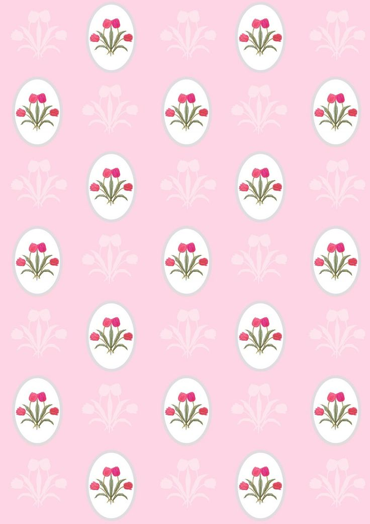FREE printable pink floral wrapping paper | MeinLilaPark