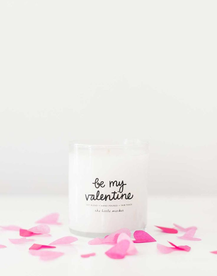 Ask That Special Someone To Be Your Valentine This Year With This Lovely  Candle. Remind