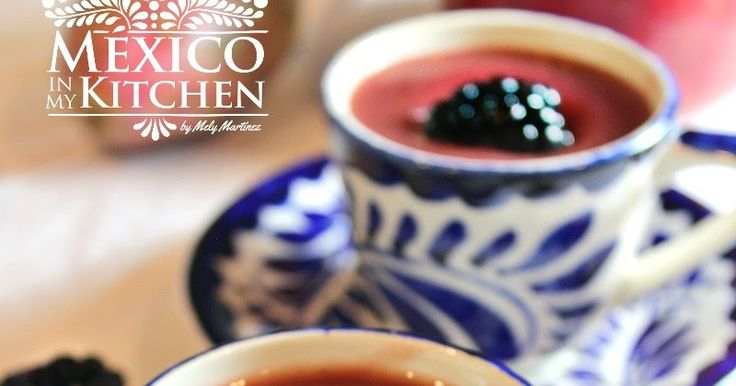 Mexican Food:Blackberry Atole, or in Spanish, Atole de Zarzamoras. This version of Atole is popular in the central states of Mexico, especially in the state of Michoacán where the production of blackberries is the largest in the country. I didn't know about blackberry atole until I went to live in Toluca in the State of Mexico, which happens to be next to Michoacán. The people from the nearby farms used to sell the blackberries at the local market, and the small eateries at the market…