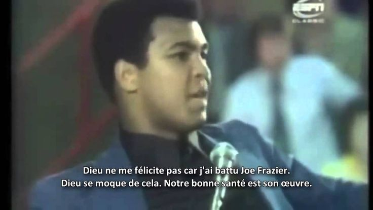 """""""What you gonna do when u retire from Boxing ?"""" Muhammed Ali Clay responds"""