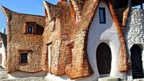 Clay Castle of the Valley of Fairies, Transylvania, situated near the tiny village of Porumbacu De Sus, is 24 miles from the city of Sibiu.