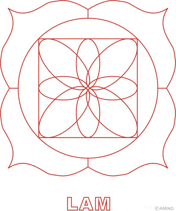 chakra symbols coloring pages - photo#39
