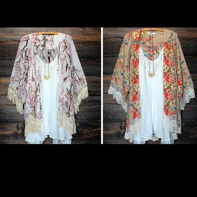 Πρωί Μεσημερί Απόγευμα και Βράδυ... Ένα Κιμόνο επιβάλλεται ;) ΜΟΝΟ 19.90 €  Floral Κιμόνο με Κρόσια σε 2 Χρώματα S - M - L - XL * Floral Kimono with Tassels in 2 Colours  Price: 19,90 €  #κιμόνο #παραλία #καλοκαίρι #κρόσια #μόδα #γυναίκα #στυλ #style #kimono #dress #beachwear #fashion #design #HOT #BUY #summertime