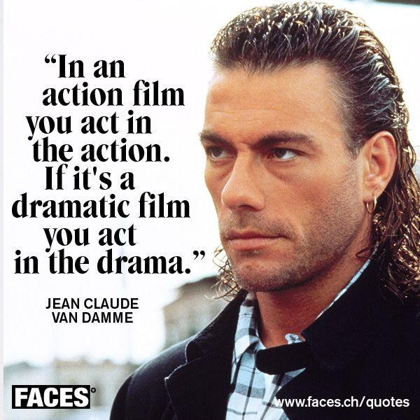 Best Action Movie Quotes: 166 Best Jean Claude Van Damme Images On Pinterest