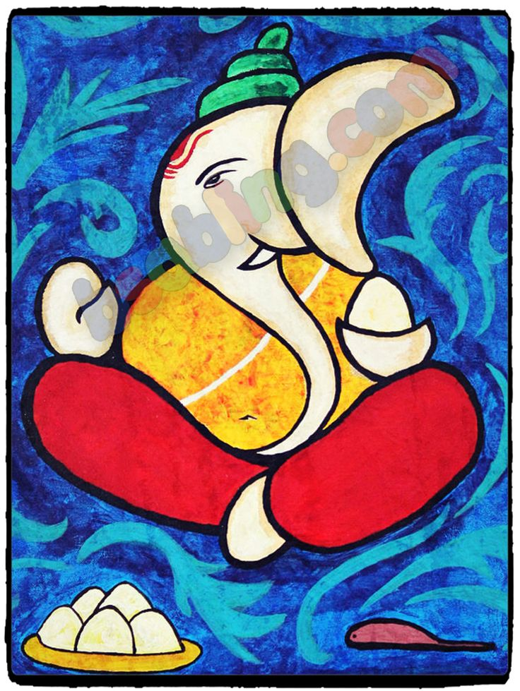 Lord #Ganesha #canvasprints for your #devotional needs.