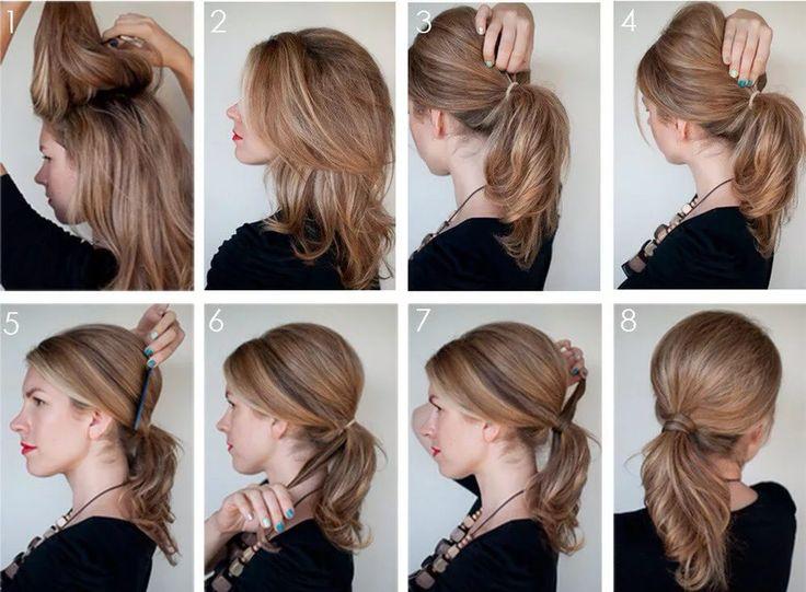 прическа для тонких волос средней длины на каждый день: 25 тыс изображений найдено в Яндекс.Картинках