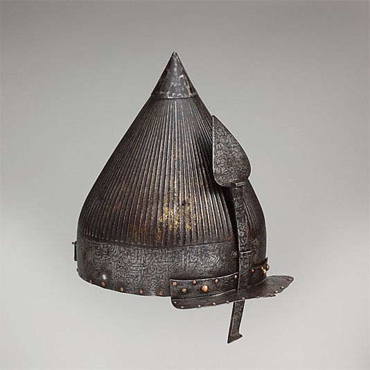 Helmet, 16th century Culture: Turkish