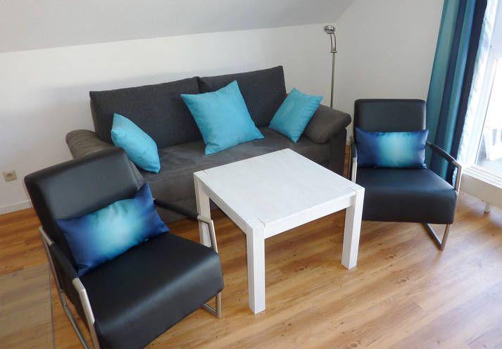 Sitzecke Apartment Seestern - H+ Ferienpark Usedom - Offizielle Webseite