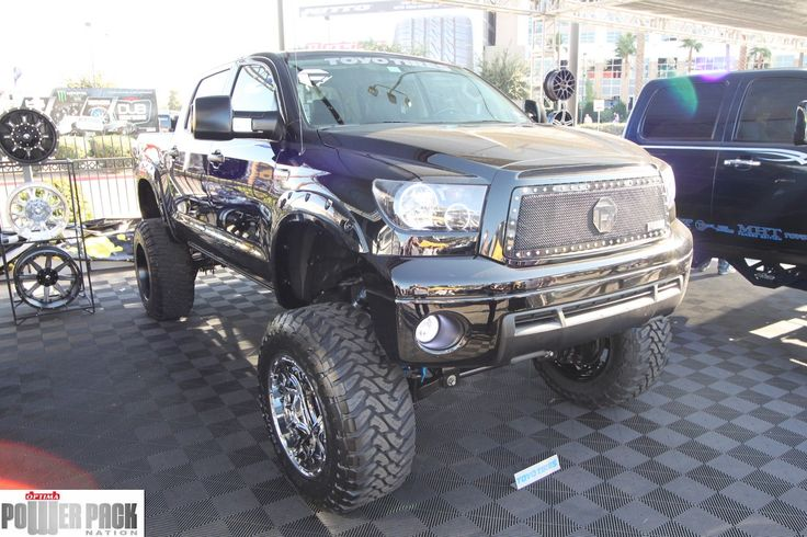 Lifted Toyota Tundra at #SEMA 2011