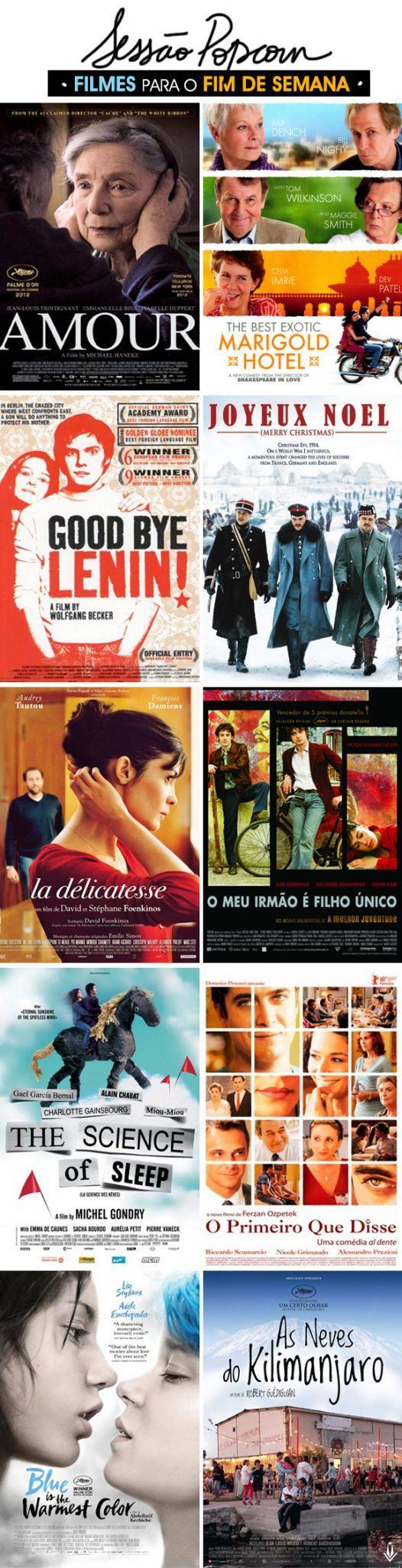 """Por Ricardo Perotti Sabe quando alguém fala """"vi um filme europeu"""" e você imediatamente pensa em um filme parado, com atuação mediana e tramas desinteressantes? PARE! Você viu os filmes errados! Claro, o número de explosões por minuto é reduzido a zero, e os amores costumam ser mais sofridos. Mas é nesse cinema mais realista e honesto onde encontramos as emoções igualmente verdadeiras. Separei uma lista bem variada de filmes para até quem diz que só gosta de cinema mainstream não colocar…"""