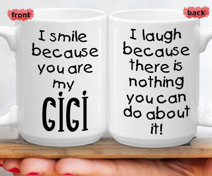 Funny Gigi Birthday Mug, Best Mimi Ever Mug, Humorous Cup For Grandma, Funny Cheeky Humor Grand Mother, Gag Gift For Gigi Anniversary – Great Grandma Gifts