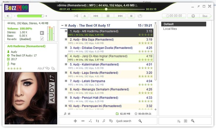 Audy - The Best Of Audy 17   Music Download