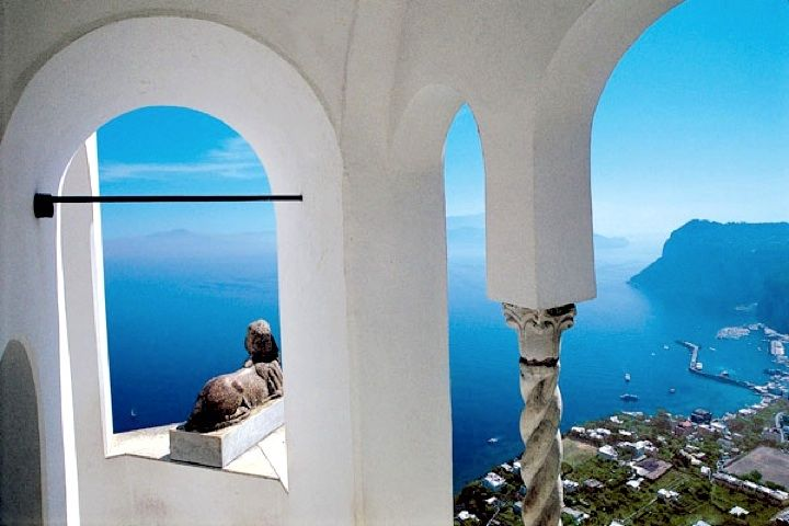 villa san michele isla de capri